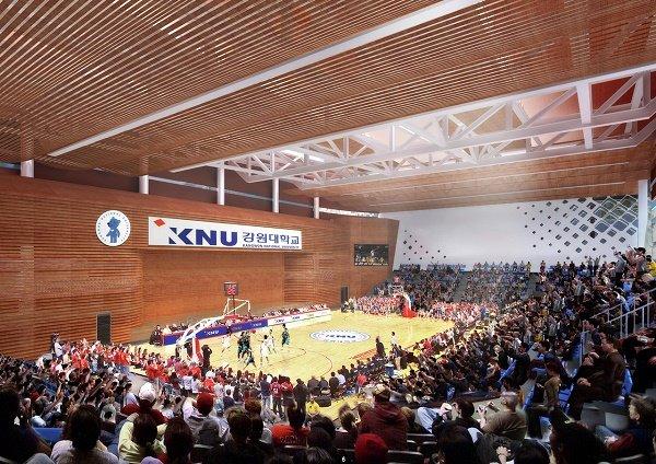 Nhà thi đấu Đại học KNU Hàn Quốc