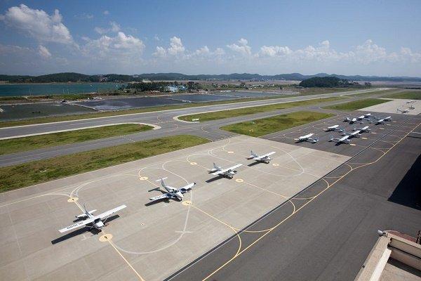 Sân bay Đại học Hanseo Hàn Quốc