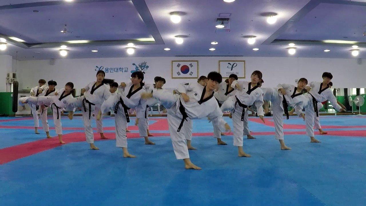 Đh Yong In với thế mạnh Võ thuật & thể dục thể thao