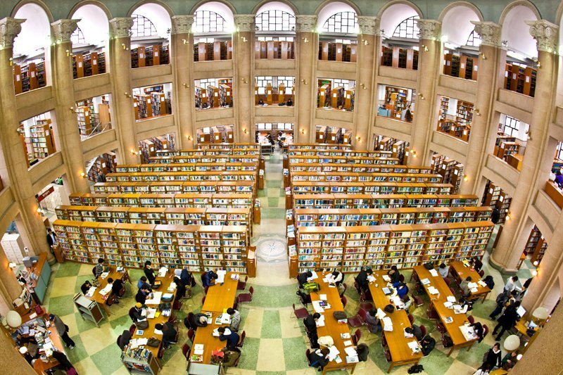 Thư viện Đại học Chosun Hàn Quốc