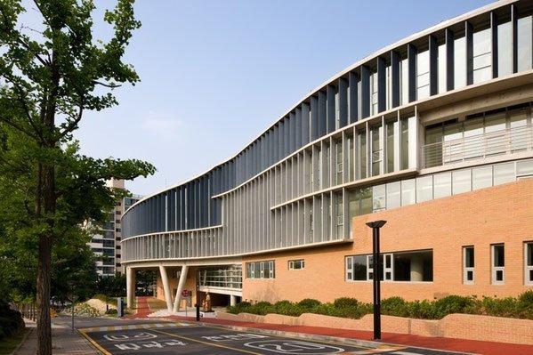 thư viện trường Đại học Paichai Hàn Quốc