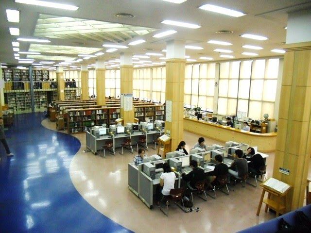 Thư viện Đại học Sogang Hàn Quốc