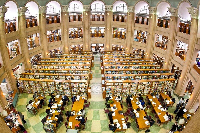 thư viện Đại học Kyung Hee Hàn Quốc