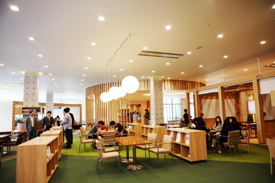 Thư viện trường Đại học Yeoju Hàn Quốc