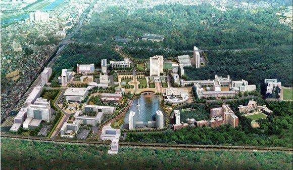 Toàn cảnh Đại học Konkuk Hàn Quốc