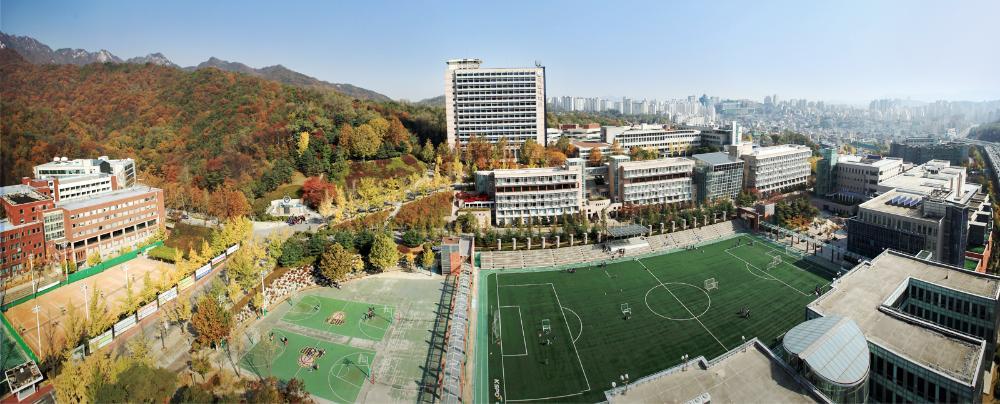 Toàn cảnh đại học Kookmin Hàn Quốc