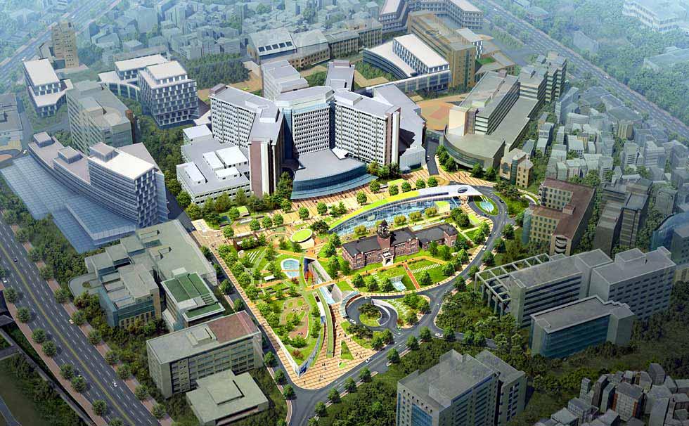 Toàn cảnh Đại học Quốc gia Seoul