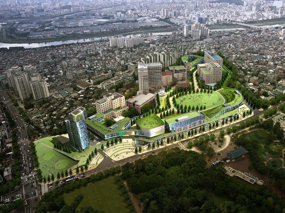 Toàn cảnh đại học Sejong Hàn Quốc