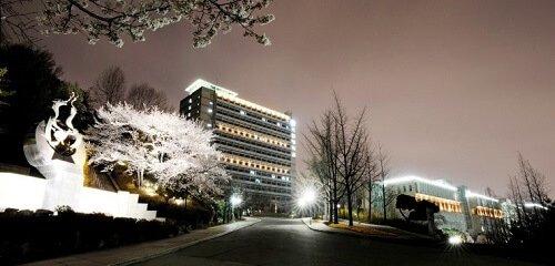 Đại học Kookmin về đêm