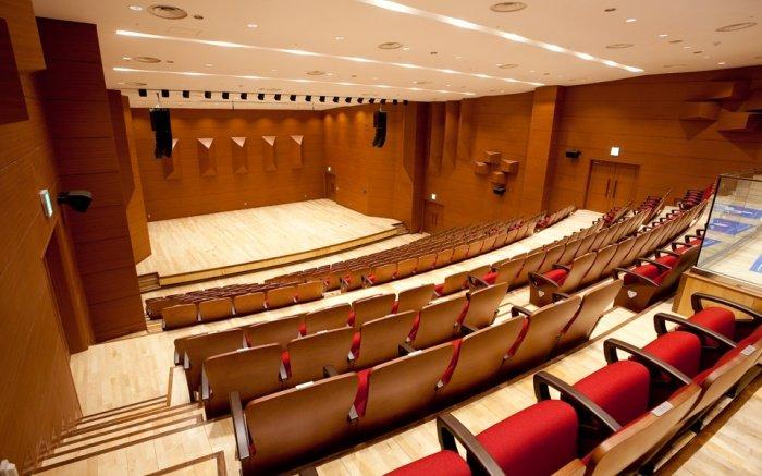 Sân khấu tại Đại học nghệ thuật Chugye