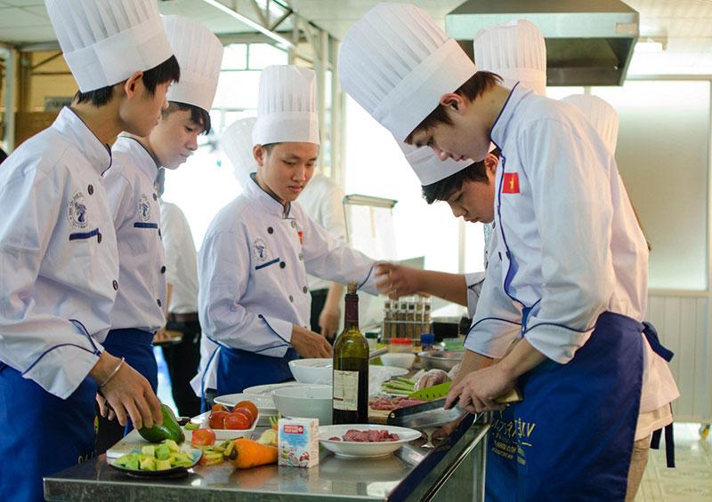 Chương trình du học nấu ăn chuyên nghiệp