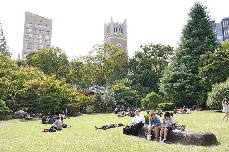 Du học Waseda bạn dễ dàng tìm được ngành học phù hợp