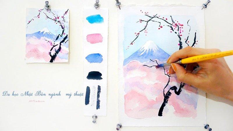 Du học Nhật Bản ngành mỹ thuật - nơi hội tụ tinh hoa văn hóa nhân loại