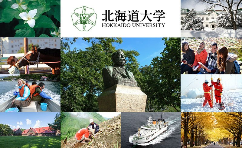 Đại học Hokkaido hỗ trợ rất nhiều học bổng du học Nhật Bản ngành môi trường cho sinh viên