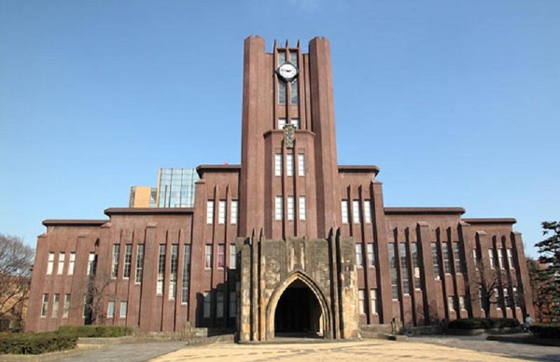 Trường Đại học Tokyo là một trong những trường nổi tiếng và có nhiều du học sinh nhất