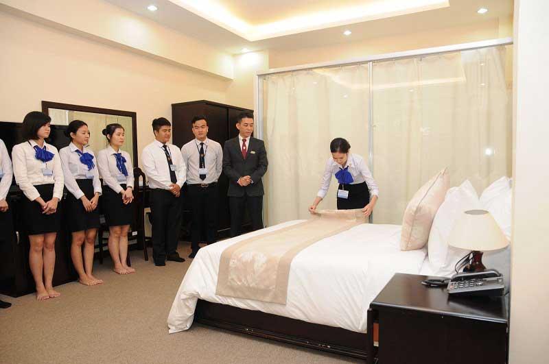 Sinh viên tốt nghiệp ngành quản trị khách sạn ở Hàn Quốc luôn được đánh giá cao