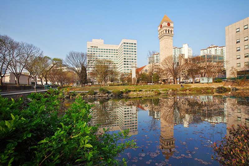 Đại học Sejong là một trong những trường đào tạo quản trị khách sạn hàng đầu Hàn Quốc