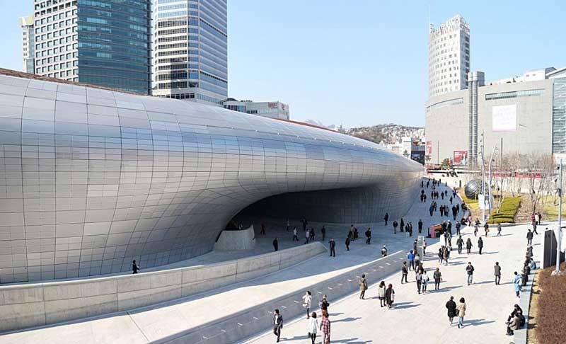 Hàn Quốc là quốc gia có ngành kiến trúc vô cùng phát triển
