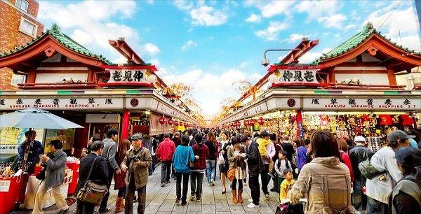 Du học Nhật Bản ngành du lịch được nhiều du học sinh lựa chọn