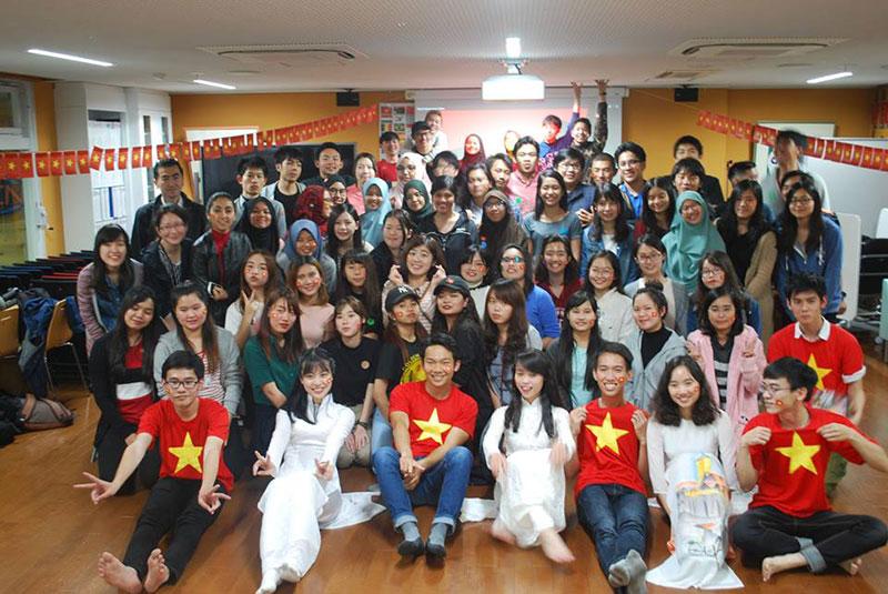 Du học sinh Việt tại Tsokuba