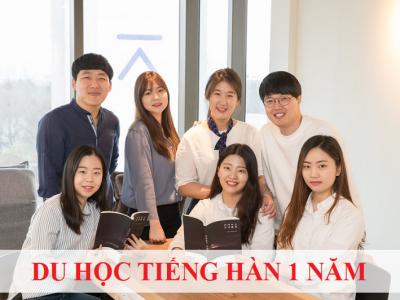 Du học tiếng Hàn 1 năm đang trở thành xu hướng của giới trẻ