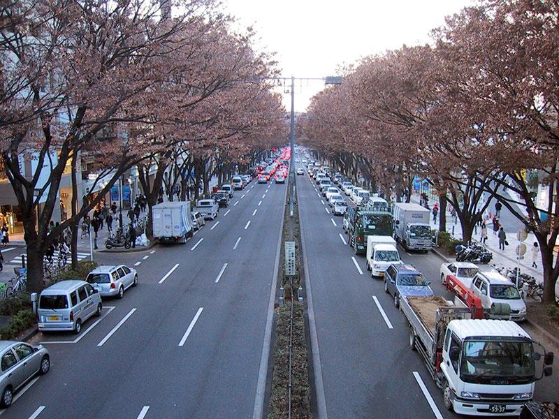 Đường phố tại Nhật Bản