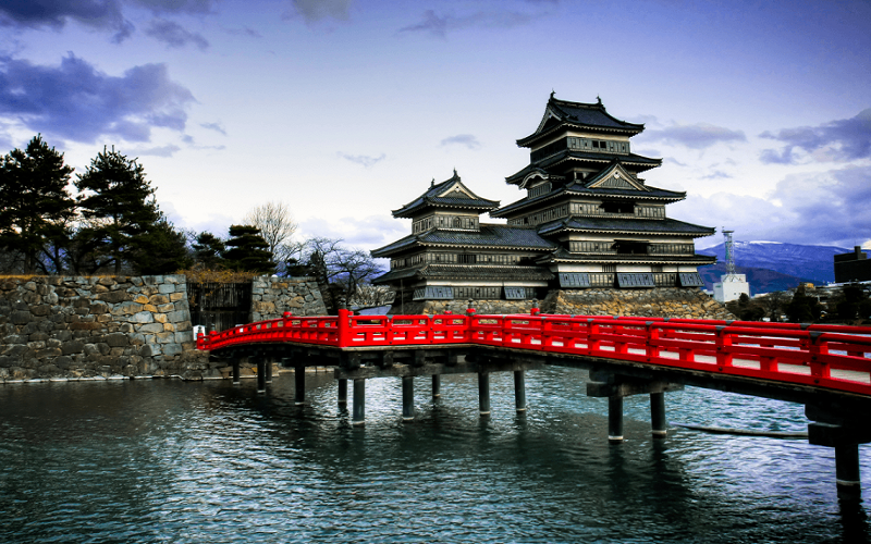 Nhật Bản có nhiều công trình kiến trúc độc đáo, hấp dẫn
