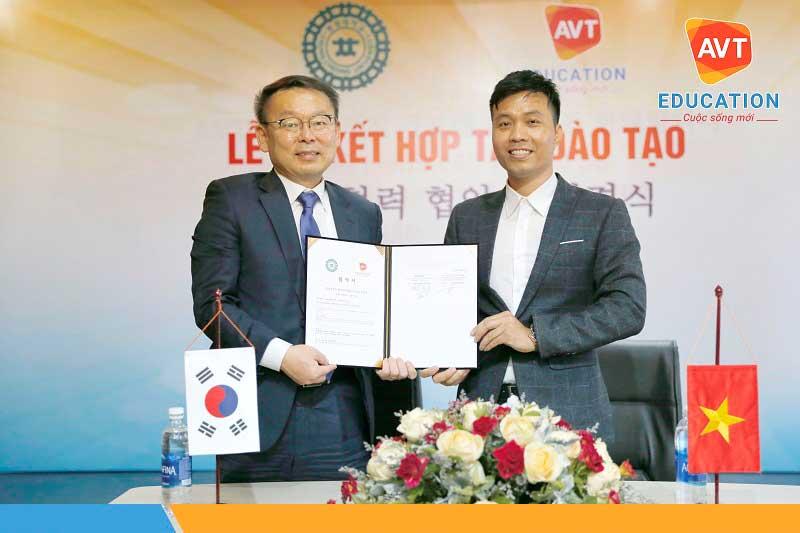 AVT Education có số lượng đối tác Hàn Quốc vô cùng lớn