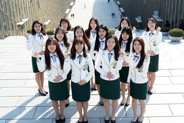 Sinh viên trường Đại học nữ Hàn Quốc