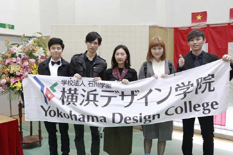 Học viện thiết kế Yokohama, địa chỉ du học ngành thời trang được nhiều bạn trẻ quốc tế lựa chọn