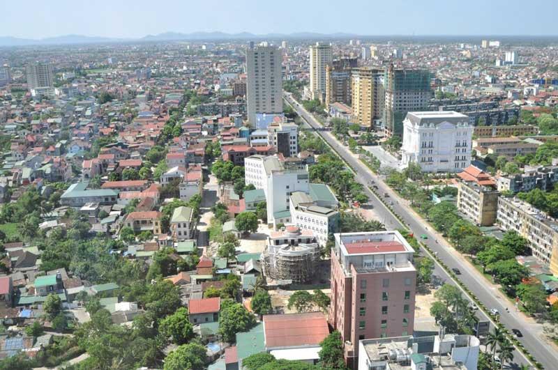 Thành phố Vinh có tốc độ phát triển cao