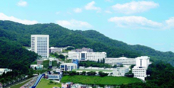 toàn cảnh Trường đại học công nghệ Busan