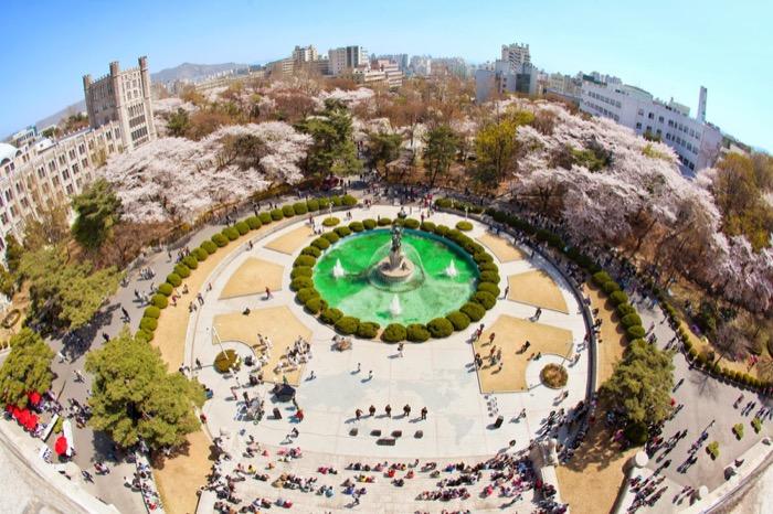 Đại học Kyung Hee - đại học nổi tiếng ở hàn quốc