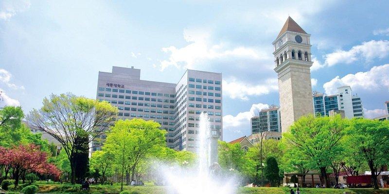 Đại học Sejong - một trong những Đại học có chương trình du học bằng tiếng Anh ở Hàn Quốc
