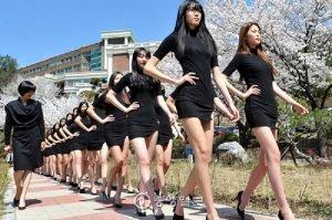 Du học Hàn Quốc ngành người mẫu