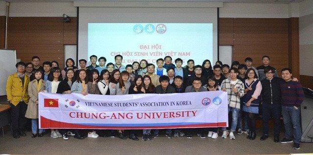 du học sinh tại đh Chung Ang