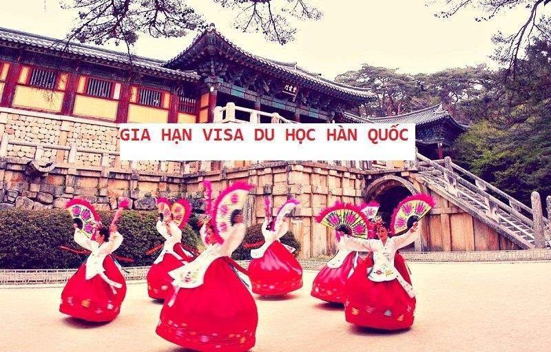 Gia hạn visa du học Hàn Quốc