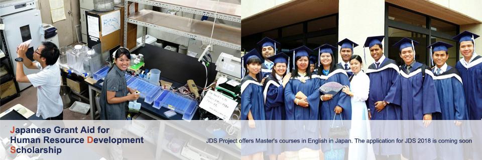 Học bổng du học Nhật Bản của JDS