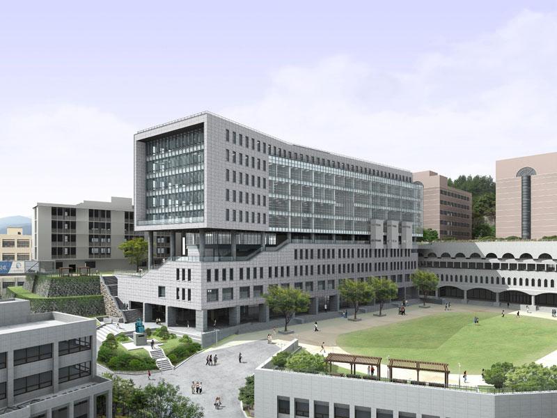 Khuôn viên trường đại học Sungshin Hàn Quốc