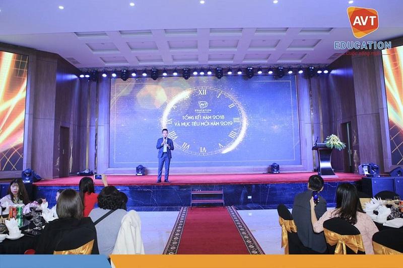 Tổng giám đốc Hồ Việt Anh lên chia sẻ về thành công năm 2018 và mục tiêu 2019