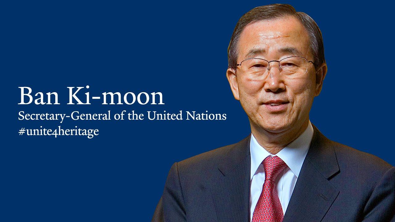 Đại học Quốc gia Seoul Cựu sinh viên nổi bật - tổng thư ký Ban Ki Moon