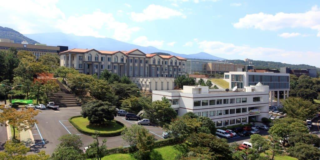 Khuôn viên trường đại học Jeju