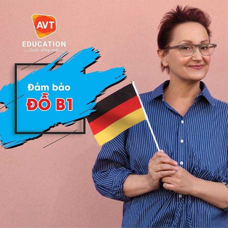 Dễ dàng chinh phục bằng B1 tiếng Đức tại AVT Education