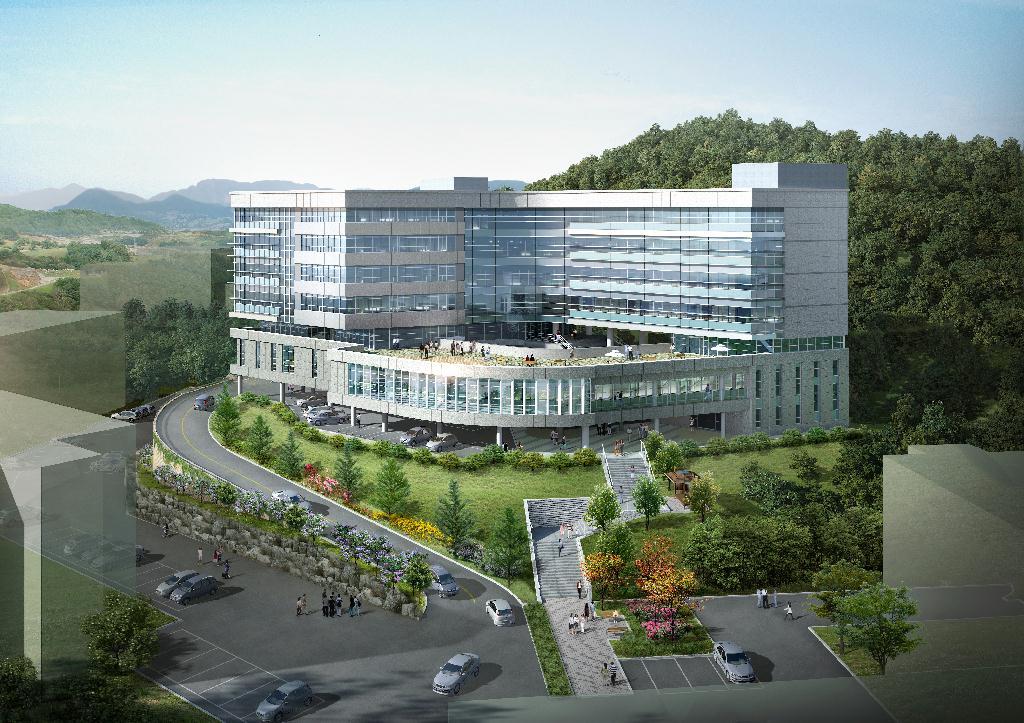 khuôn viên Đại học Andong Hàn Quốc