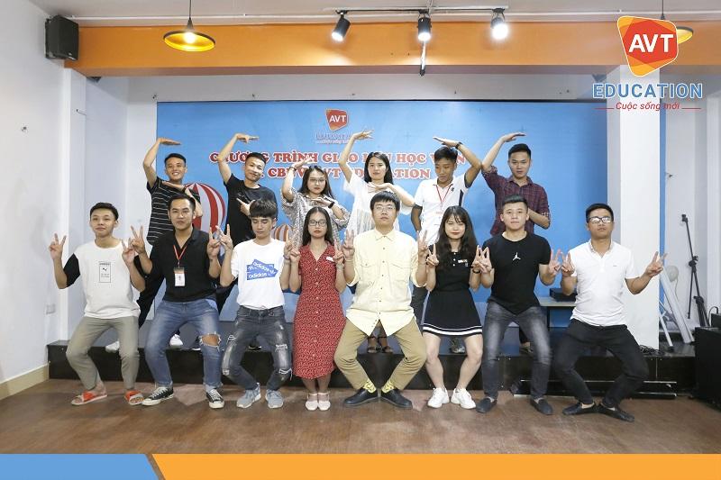 Chương trình giao lưu cùng các lớp trưởng tại AVT Education