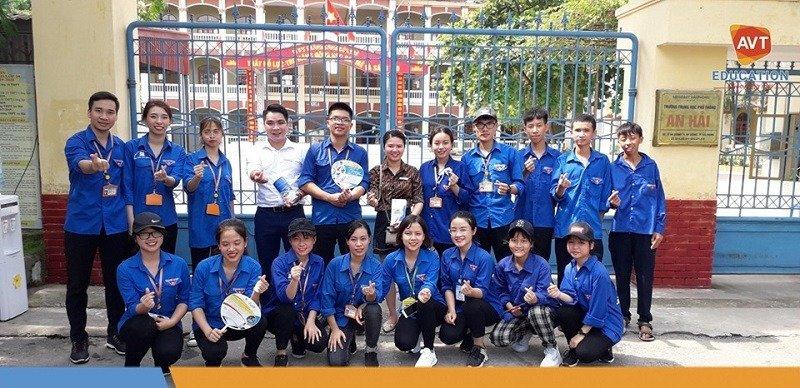 Hành trình tiếp sức mùa thi 2019 của AVT Education
