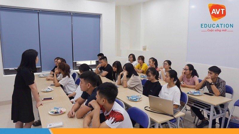 AVT Education đã nhanh chóng hoàn thiện cơ sở mới để chào đón các tân học viên