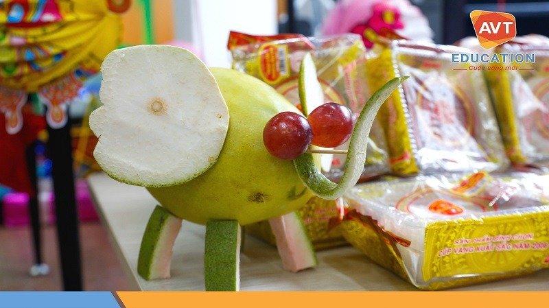 Chú voi ngộ nghĩnh là từ trái cây
