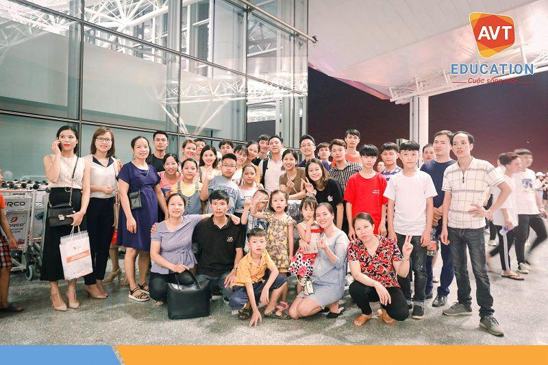 Tiễn đoàn bay Incheon - Kỳ nhập học tháng 9/2019