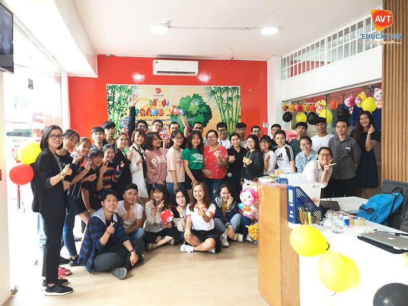 Các học viên AVT Education TP.HCM cũng có một ngày lễ trung thu đầy ý nghĩa